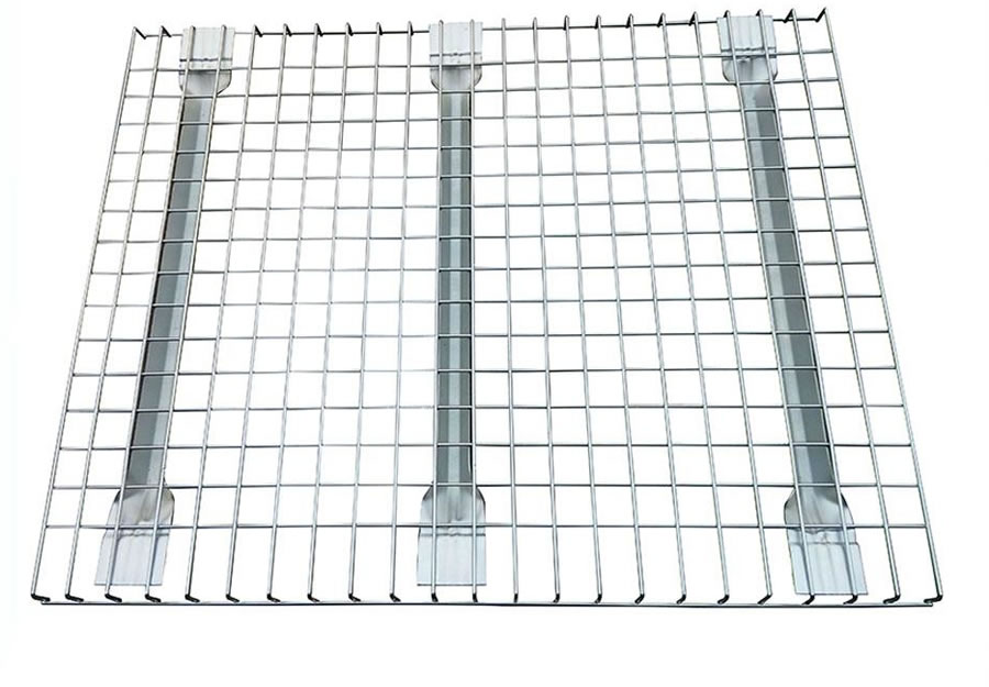 Chrome Plated Steel Wire Shelving, Pallet Rack, Welded Decking