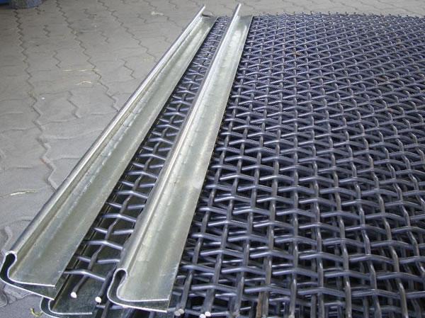 Galvanized Steel Square Mesh Woven Wire Cloth