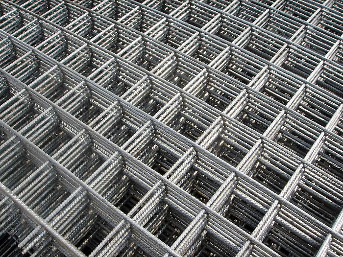 Galvanized Steel Bar Welded Mesh Fabric Used for Concrete Reinforcing