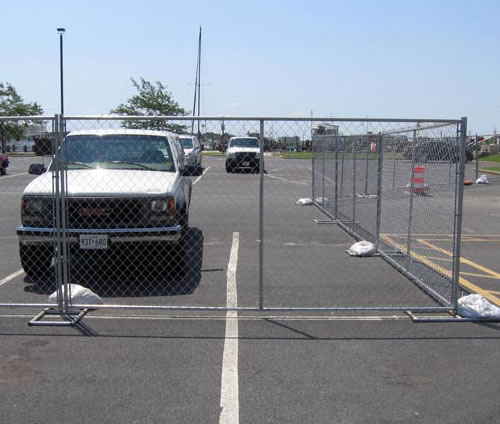 Hot Dipped Galv. Mesh Fence