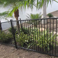 Galvanized and Powder Coated Pool Fencing