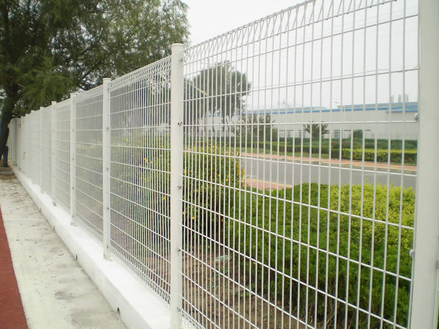 Galvanized Powder Coated Welded Mesh Fence Panels